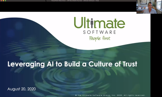 Ultimate Software Keynote